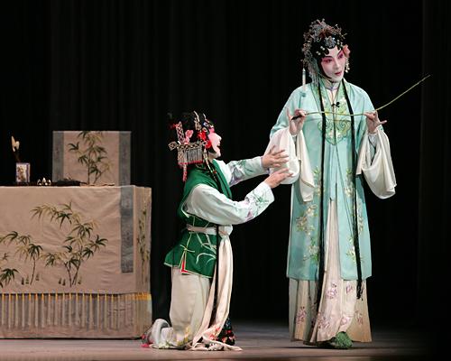 A performance of Kunqu at the Peking University