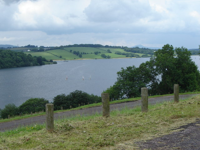 Picnic Area and Parking by Llandegfedd Reservoir - geograph.org.uk - 468453