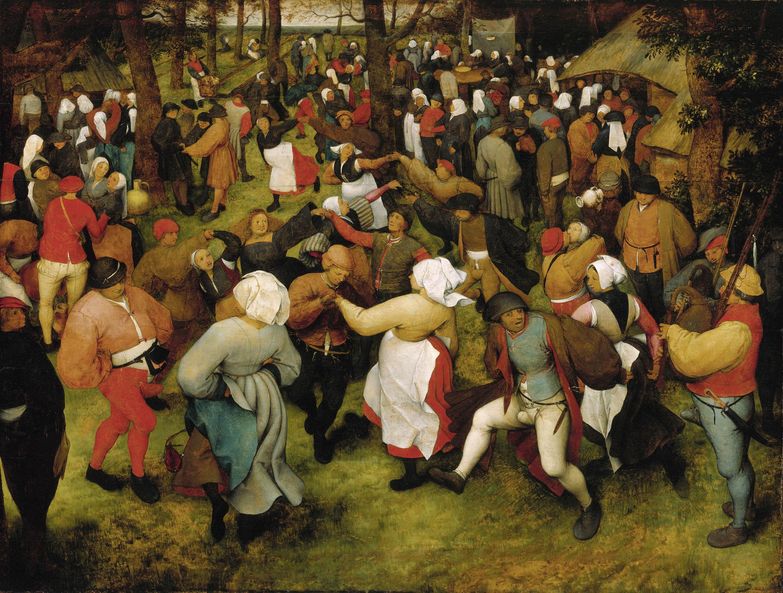 File Pieter Bruegel The Elder Wedding Dance In Open Air Wga03505