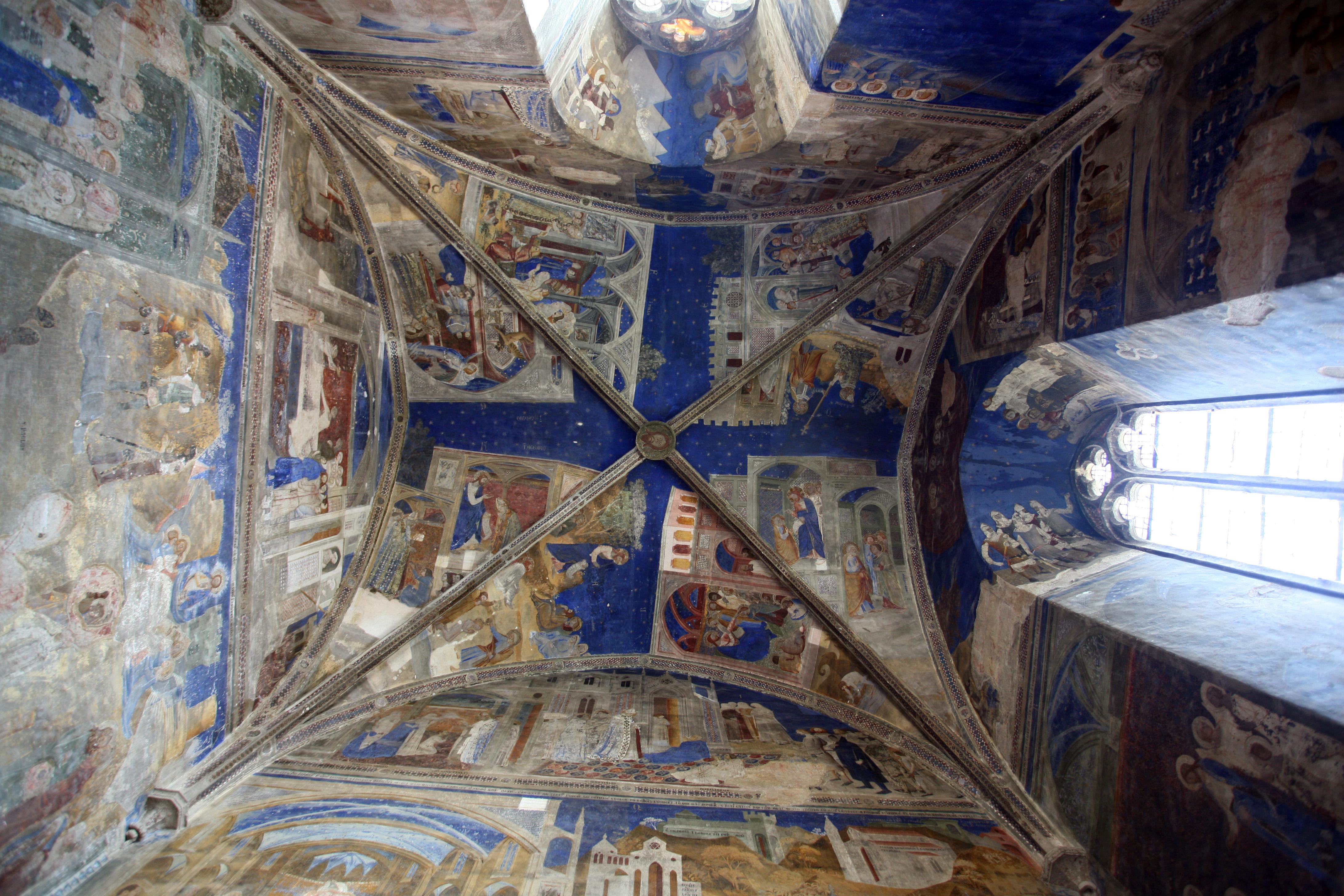 File plafond de la chapelle saint martial par jm rosier jpg wikipedia - Plafond a la francaise ...