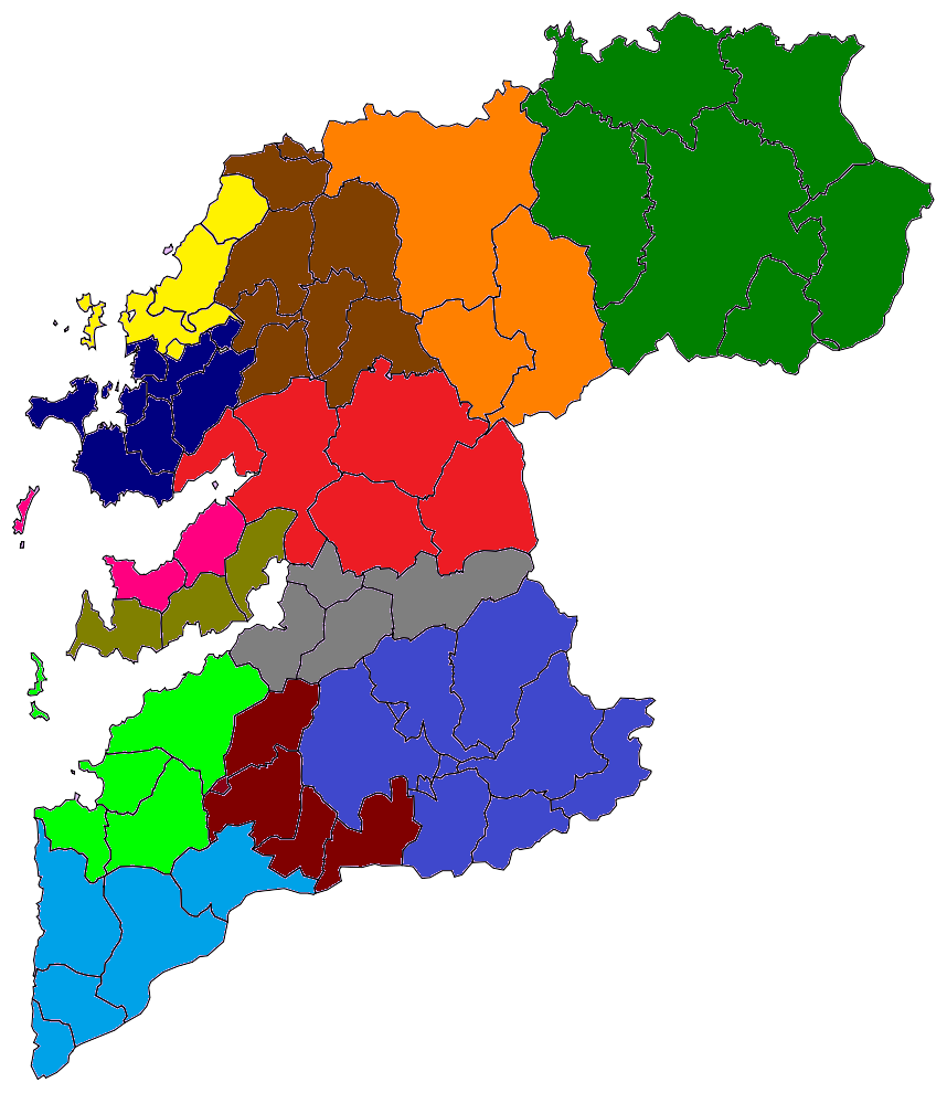 Mapa De Pontevedra Provincia.File Pontevedra Mapa Judicial Png Wikimedia Commons