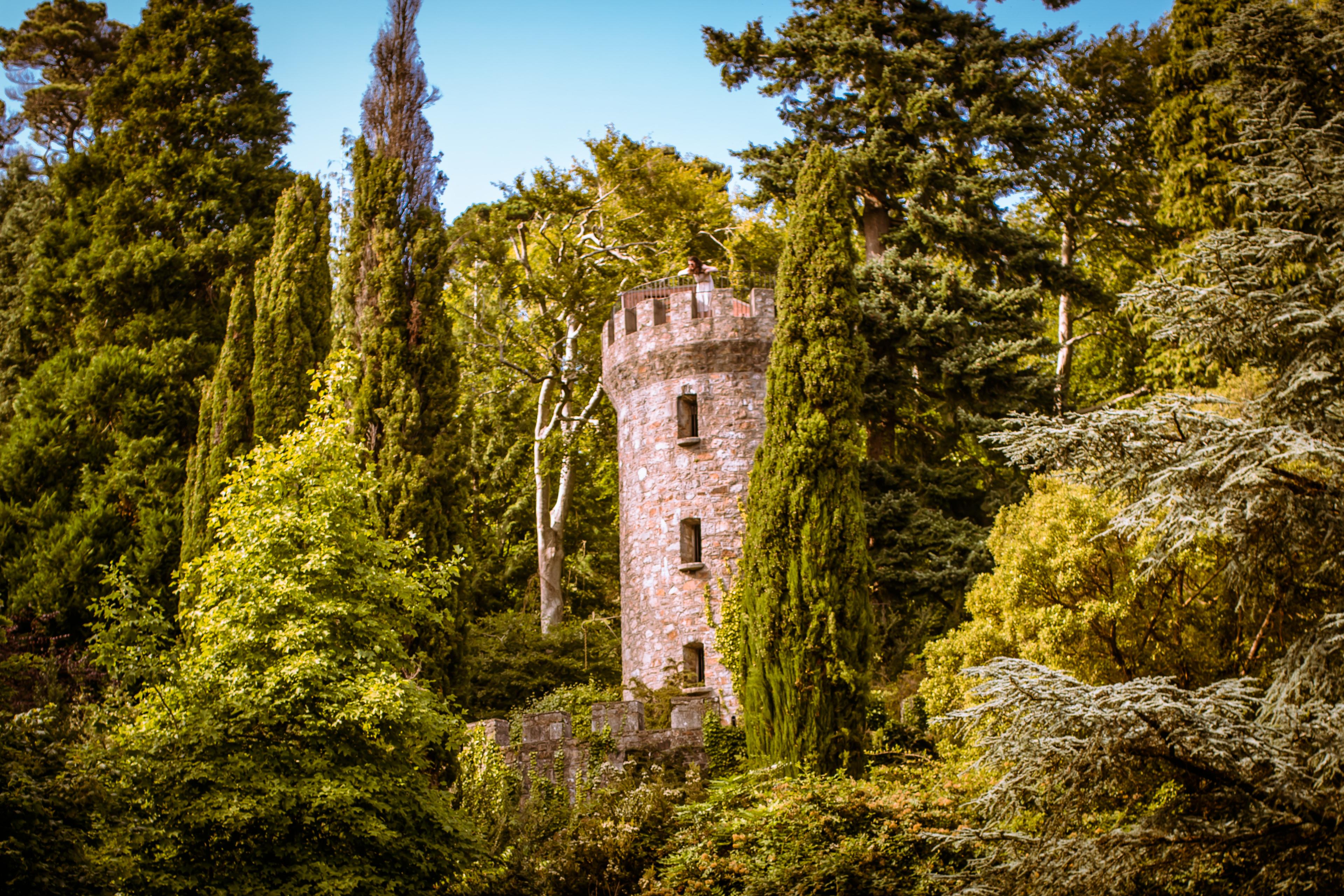 Wicklow Ireland  city pictures gallery : Description Powerscourt Estate Tower, Co. Wicklow, Ireland 2012