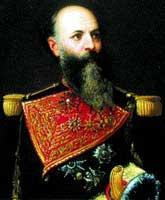 General Antonio Guzmán Blanco, el Ilustre Americano, presidente en los per�odos 1870-1877, 1879-1884 y 1886-1888.