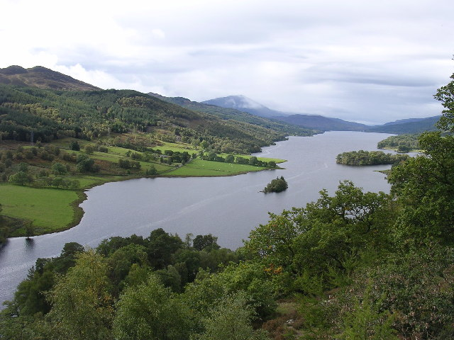 Queens View - Loch Tummel
