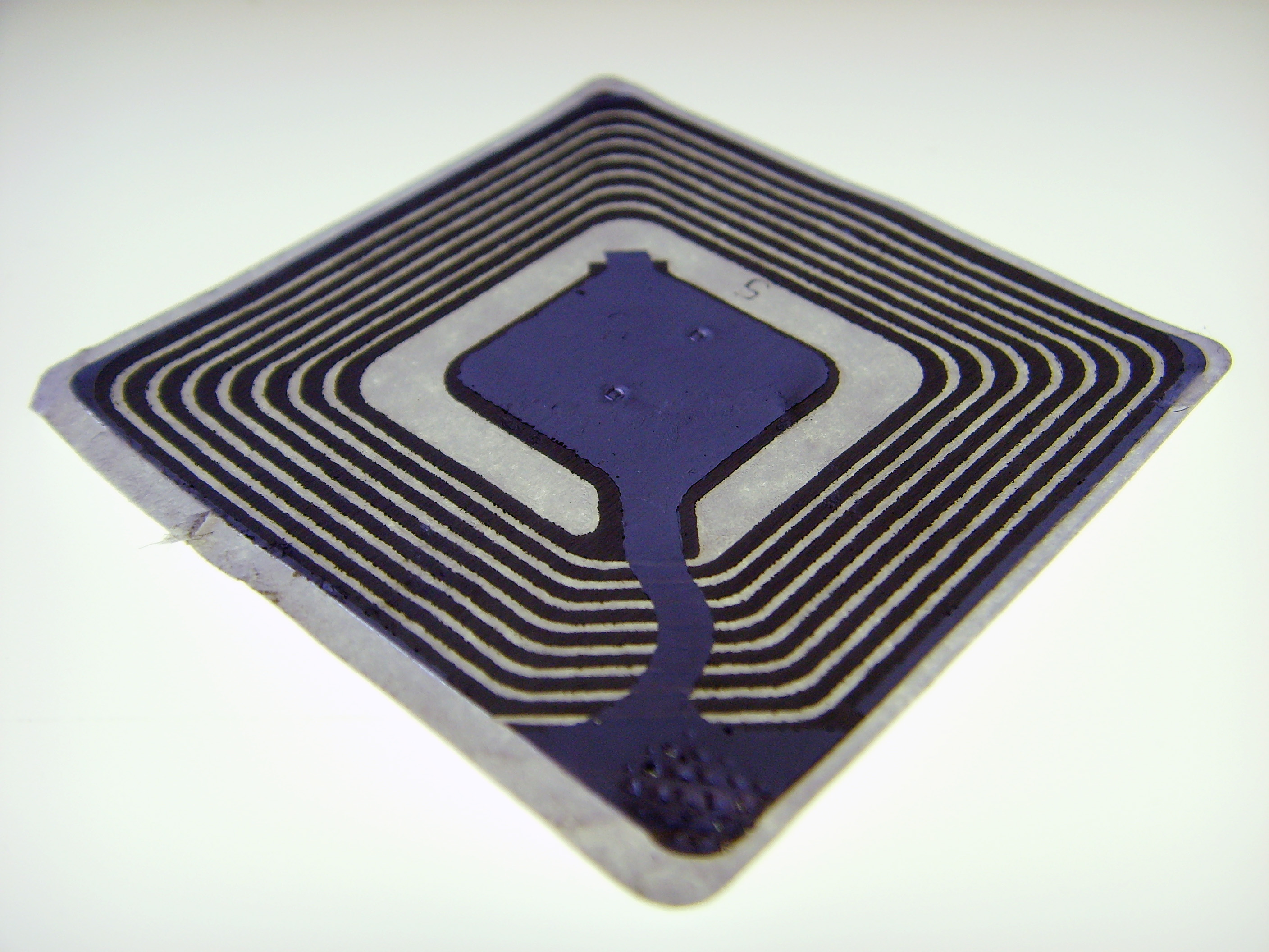 image of a rfid tag