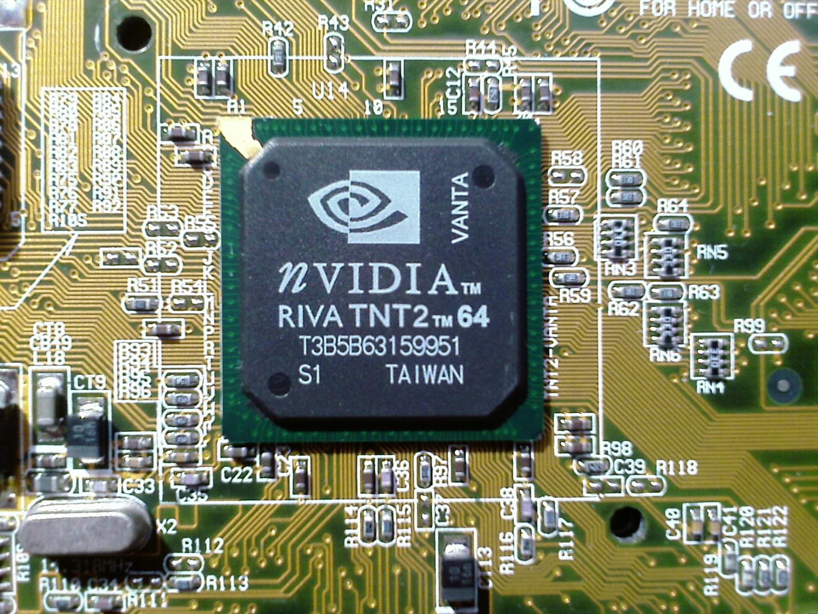 Nvidia riva tnt2 tm 64 driver.