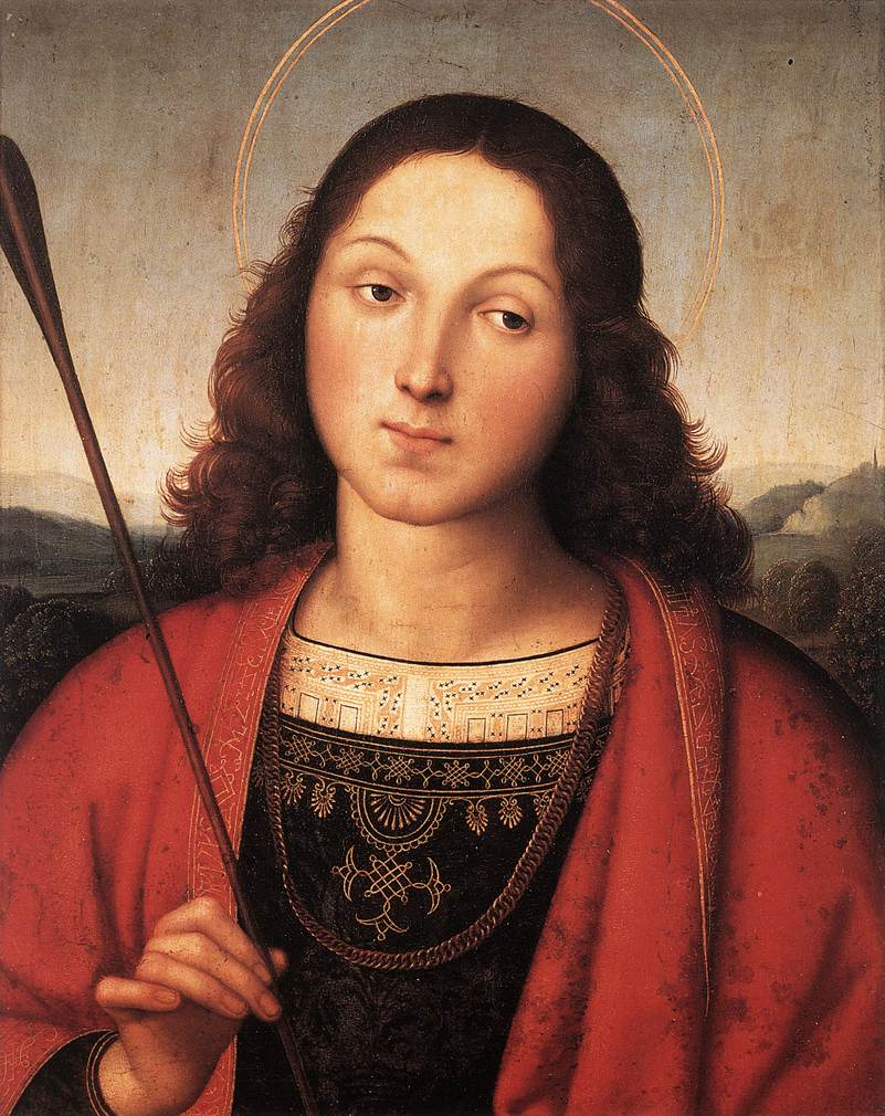 saint sebastian Saint sebastian (traditionally died january 20, 287) was a christian saint and martyr, who is said to have died during the diocletian persecution in the late 3rd century.