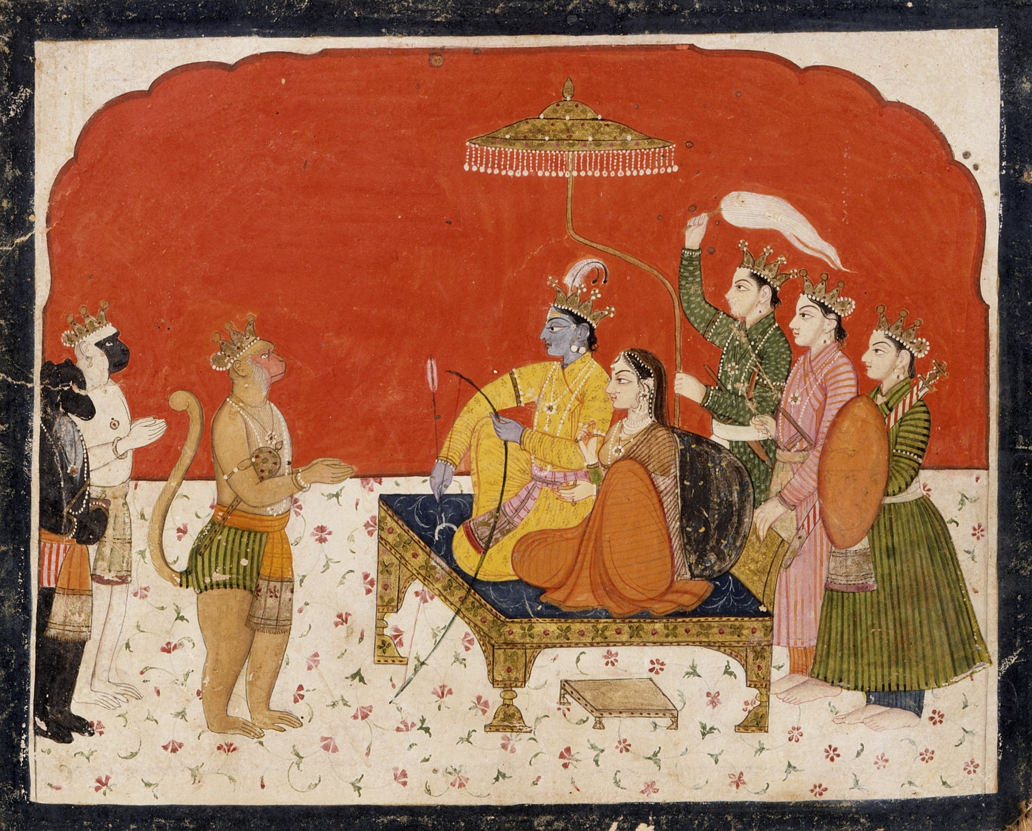 rama from ramayana Add to that other versions of the ramayana across south and  epic, ramakien  or the malaysian hikayat seri rama and malay stories in which.