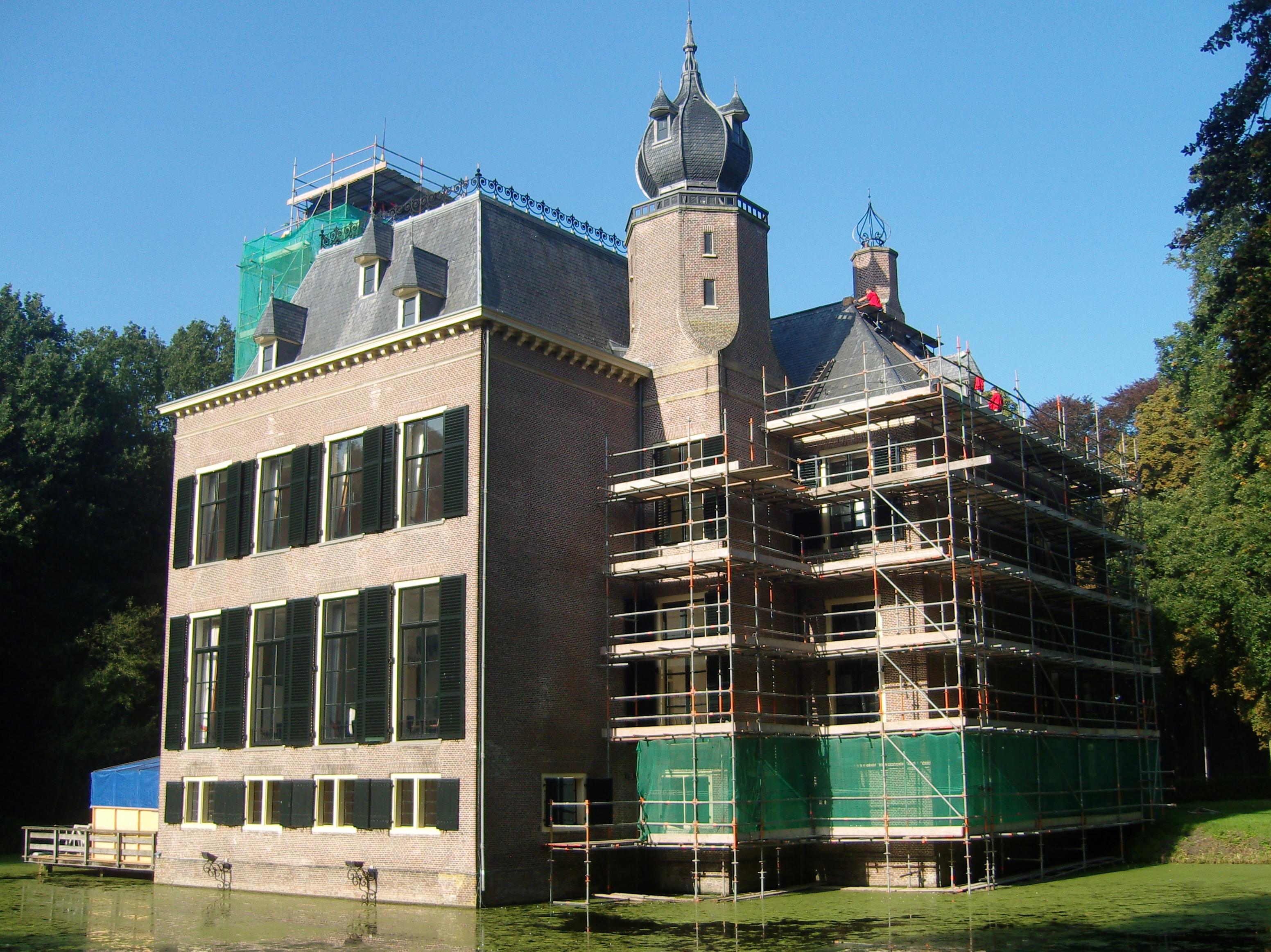 renovatie kasteel