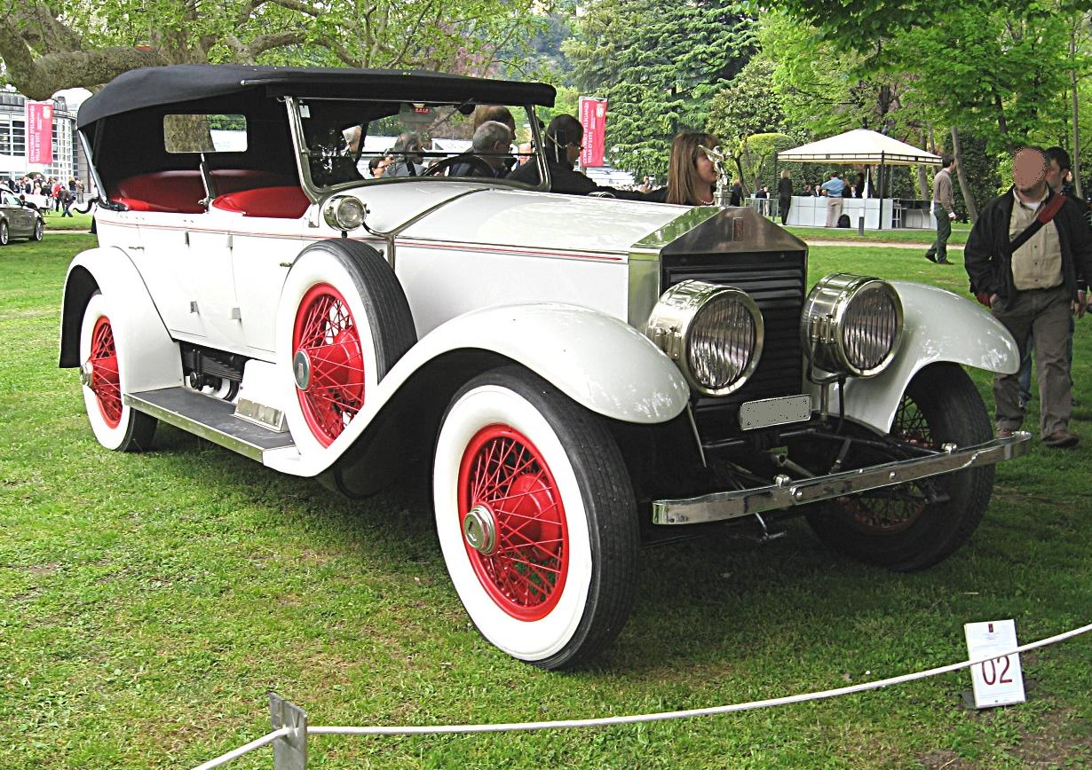 File:Rolls-Royce Silver-Ghost-Torpedo Front-view.JPG