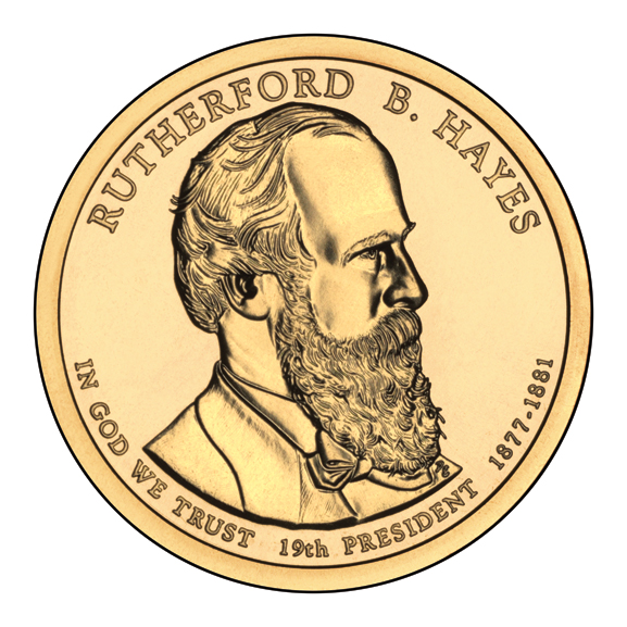 File:Rutherford B. Hayes $1 Presidential Coin obverse.jpg