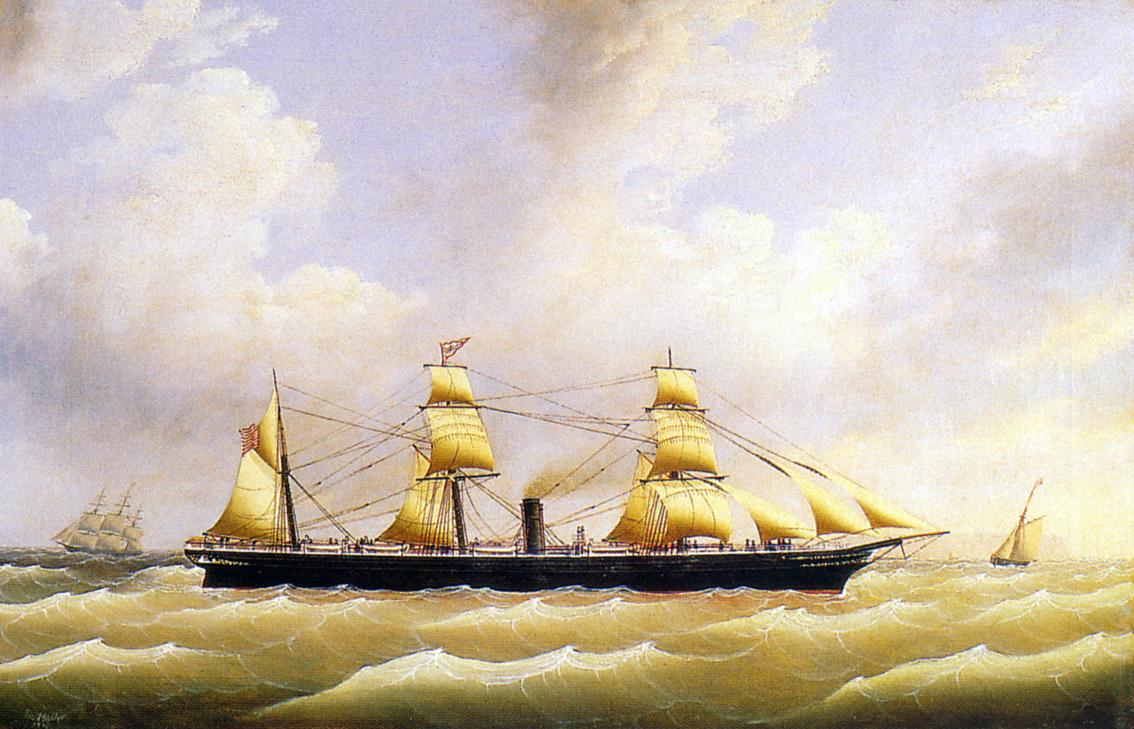 Ocean Painting Oil Painting Signed Renard