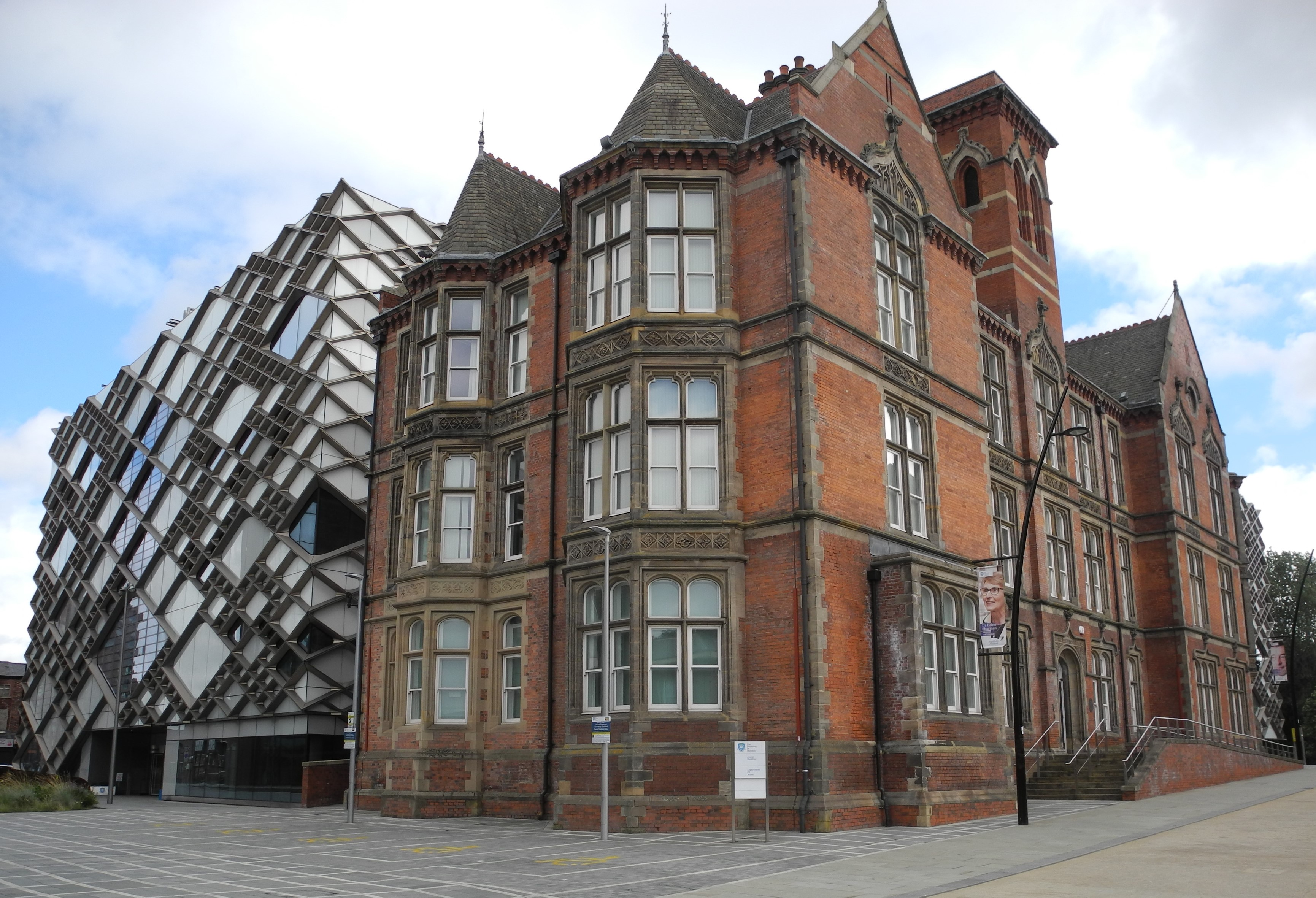University of Sheffield, Faculty of Music and The Diamond.jpg - Wikimedia Common