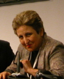 Shirin Ebadi at WSIS press conference