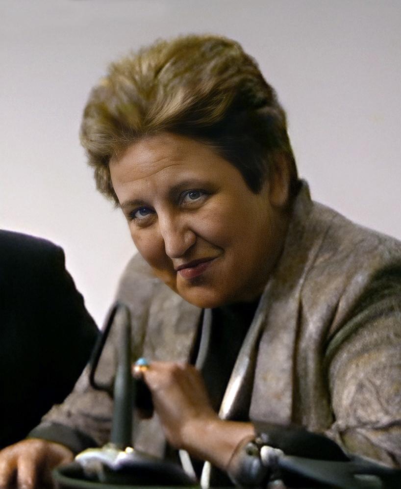 Shirin Ebadi at WSIS press conference