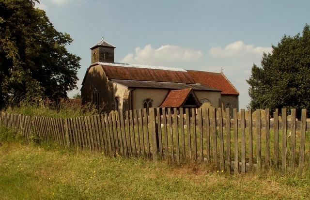 St. Peter's church, Lindsey, Suffolk - geograph.org.uk - 191723