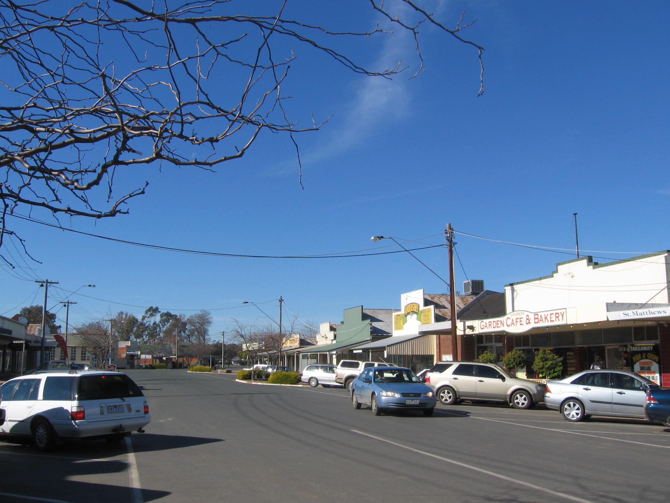 Stanhope, Victoria - Wikipedia