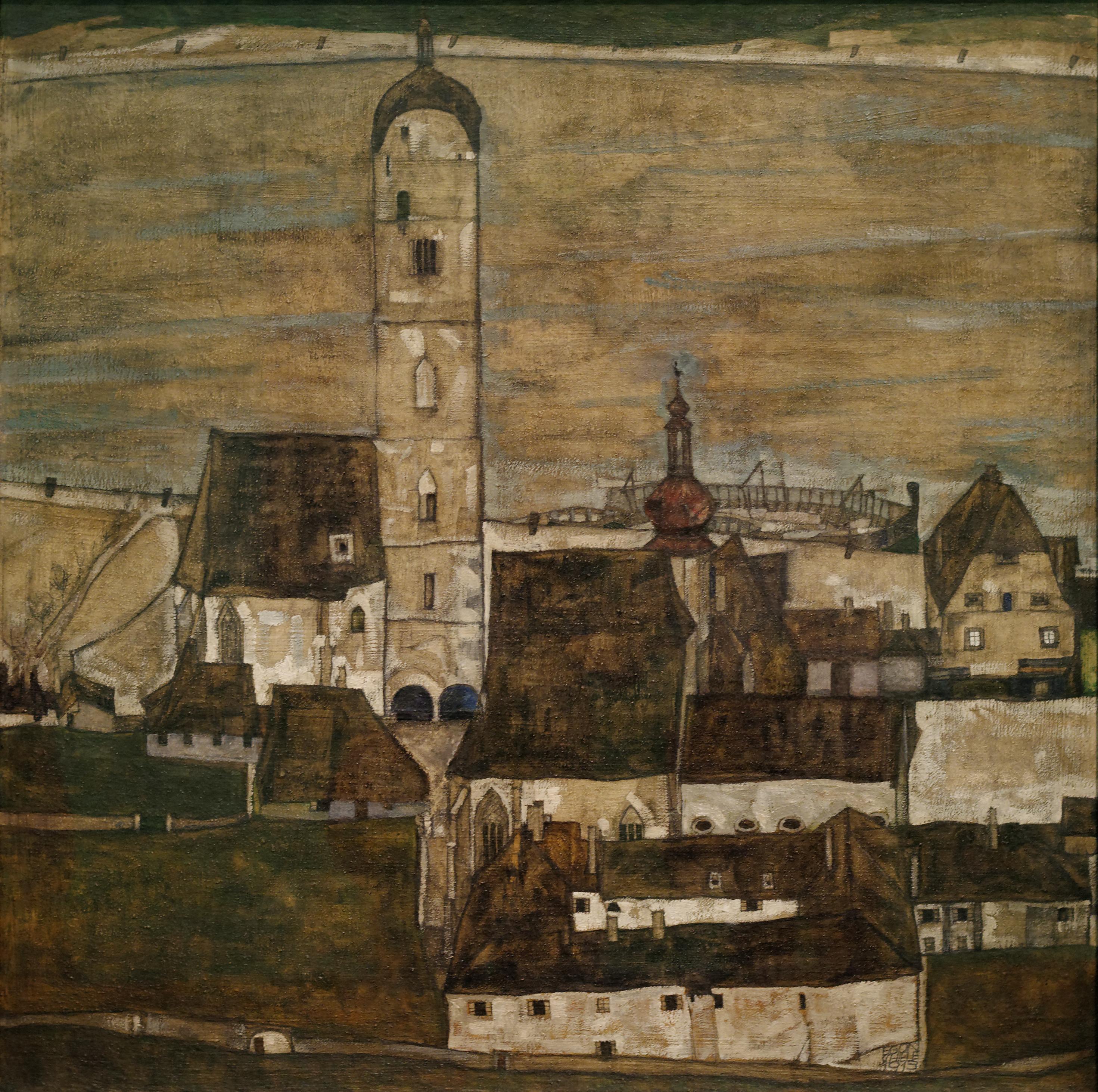 Stein_on_the_Danube_II_Egon_Schiele_1913.jpg