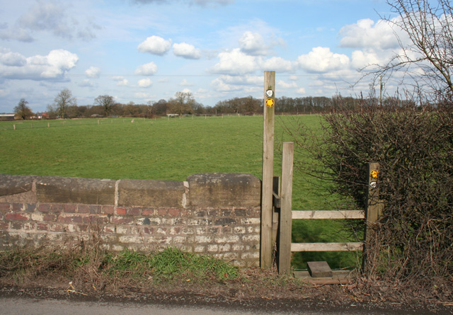 Stile on the Crewe and Nantwich Circular Walk - geograph.org.uk - 1192218