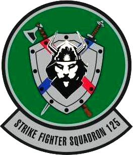 Strike Fighter Squadron 125 (US Navy) insignia 2017.png