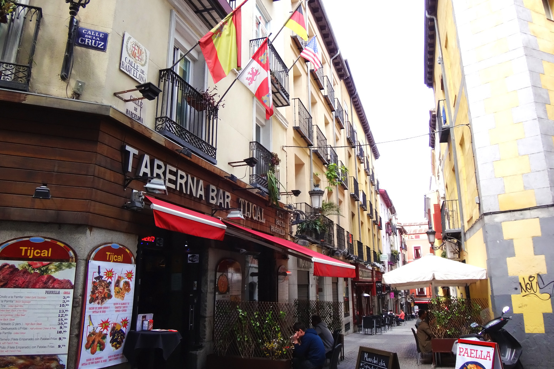 Archivo taberna en la calle barcelona - H m calle orense madrid ...