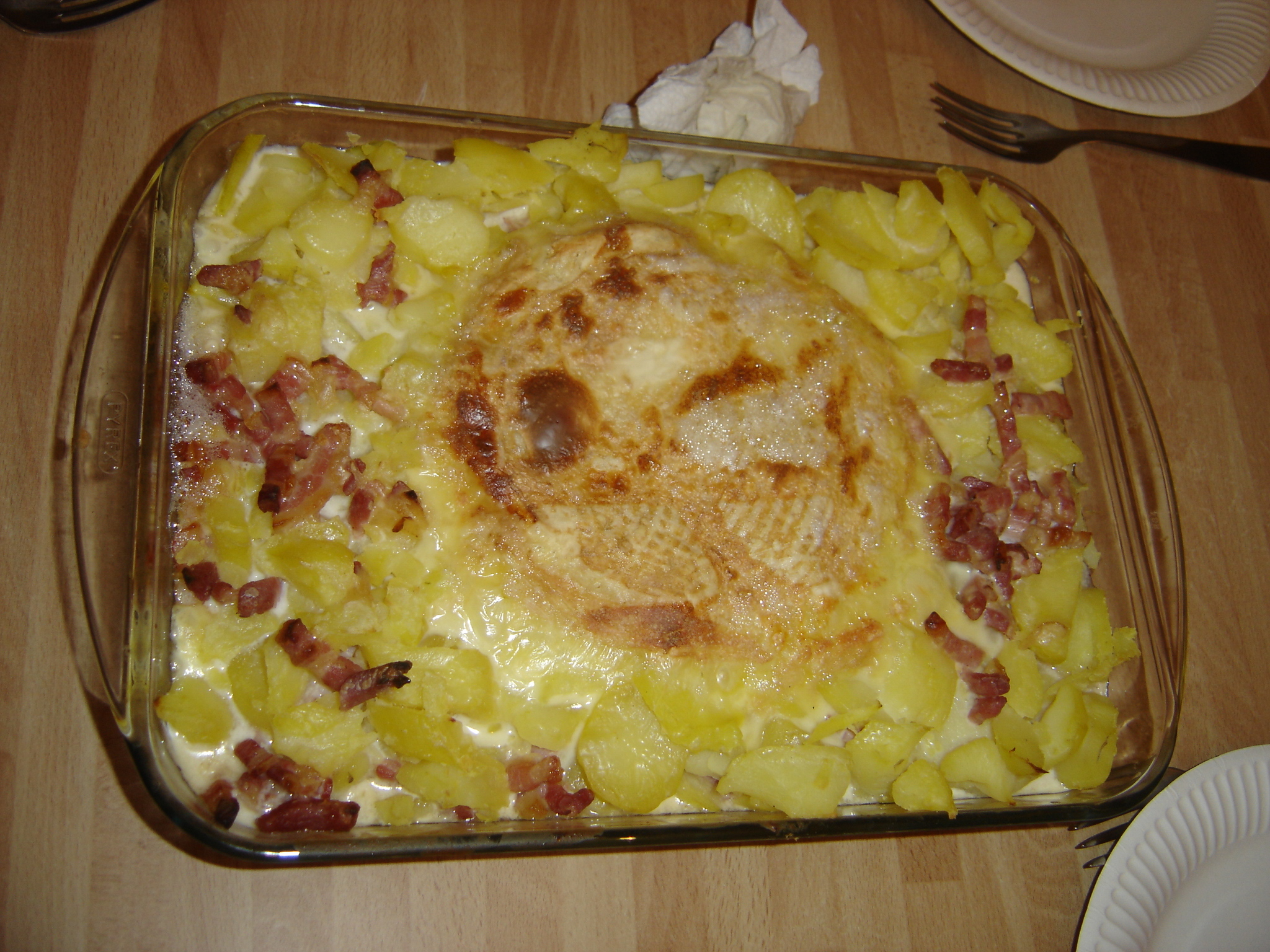 Tartiflette, a french dish with a cheese named...