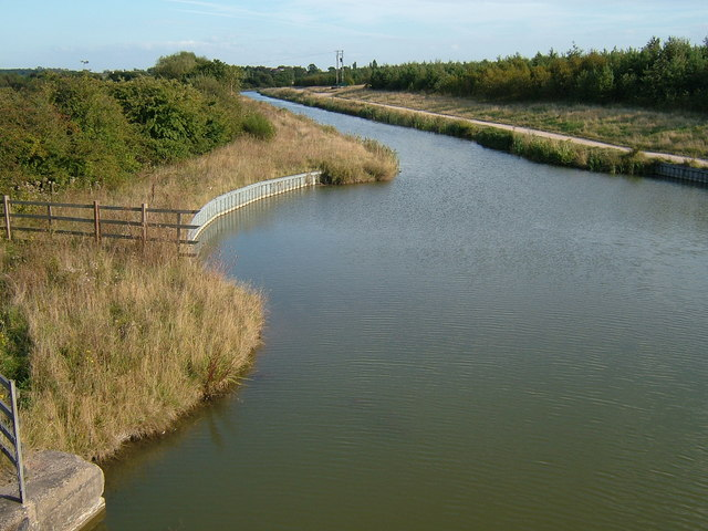The Ashby Canal at Donisthorpe, Leicestershire