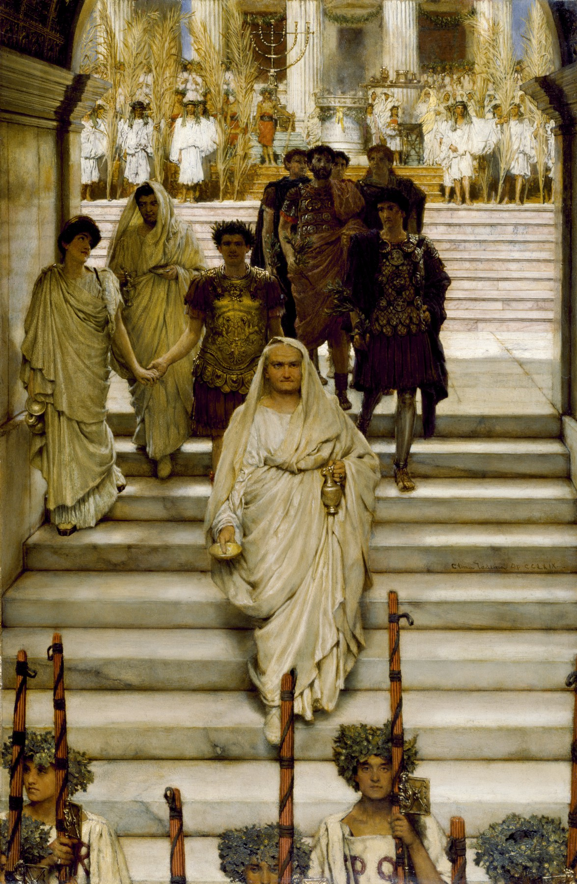 The Triumph of Titus, by Sir Lawrence Alma-Tadema (1885)