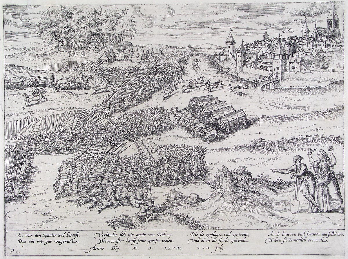 File:The siege of Dalen on july 22, 1568 (Frans Hogenberg).