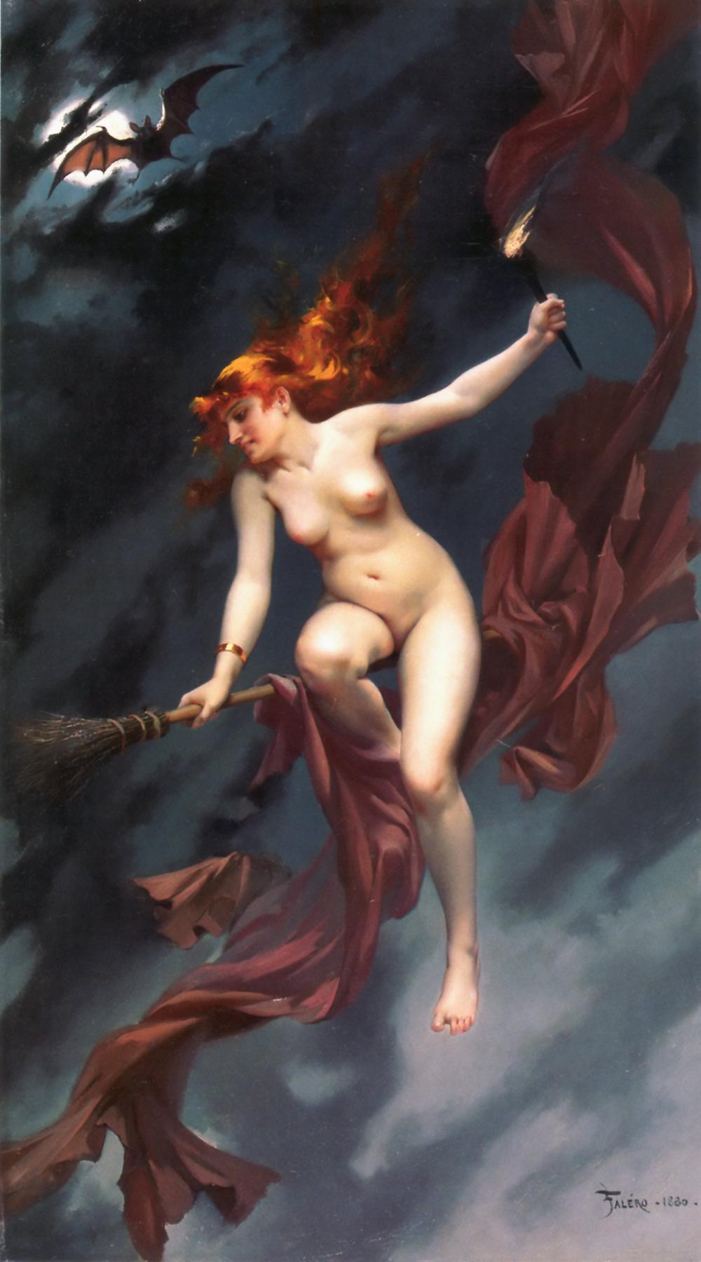 Skyclad - La sorcière allant au Sabbat