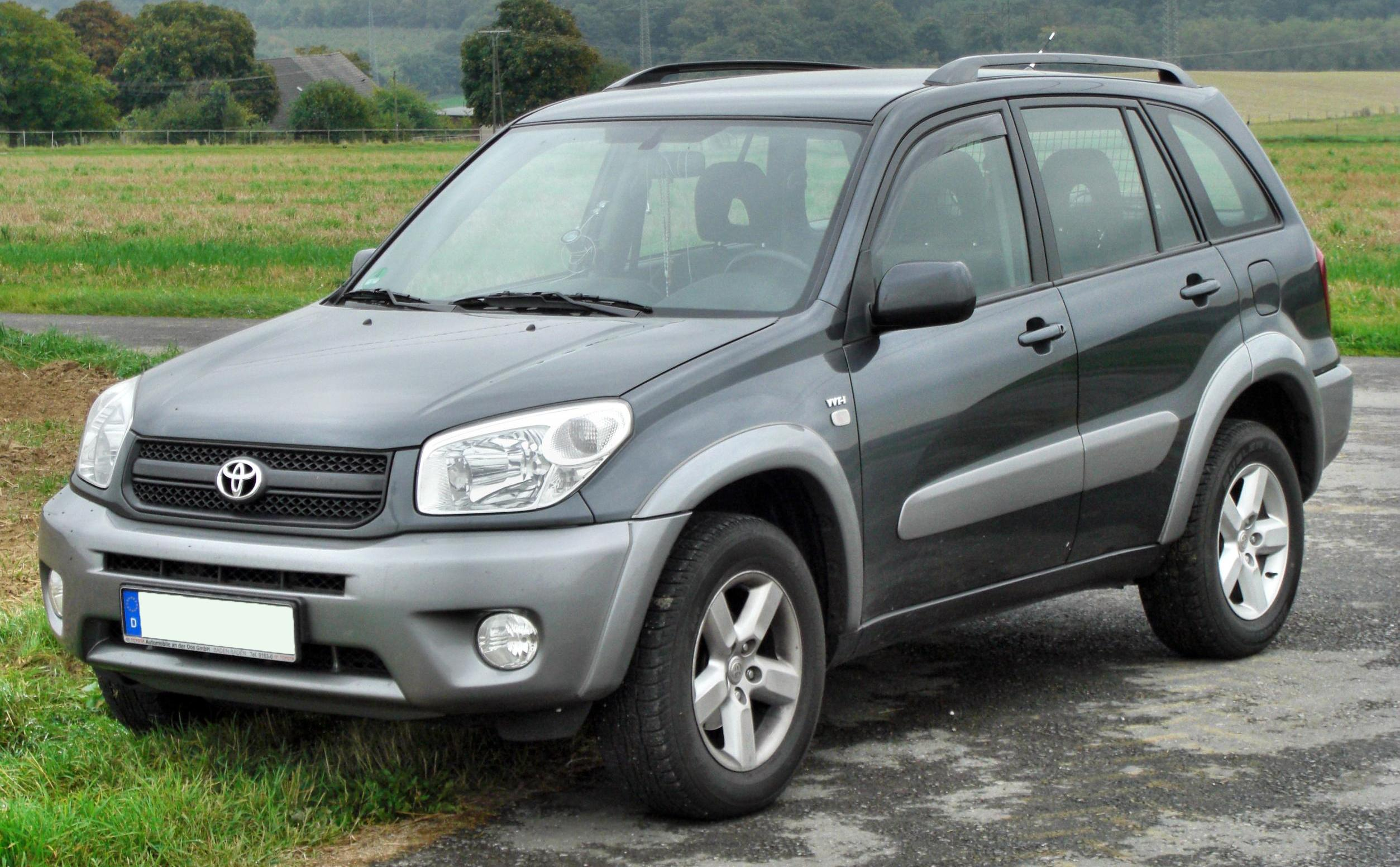 file toyota rav4 ii facelift front wikimedia commons. Black Bedroom Furniture Sets. Home Design Ideas