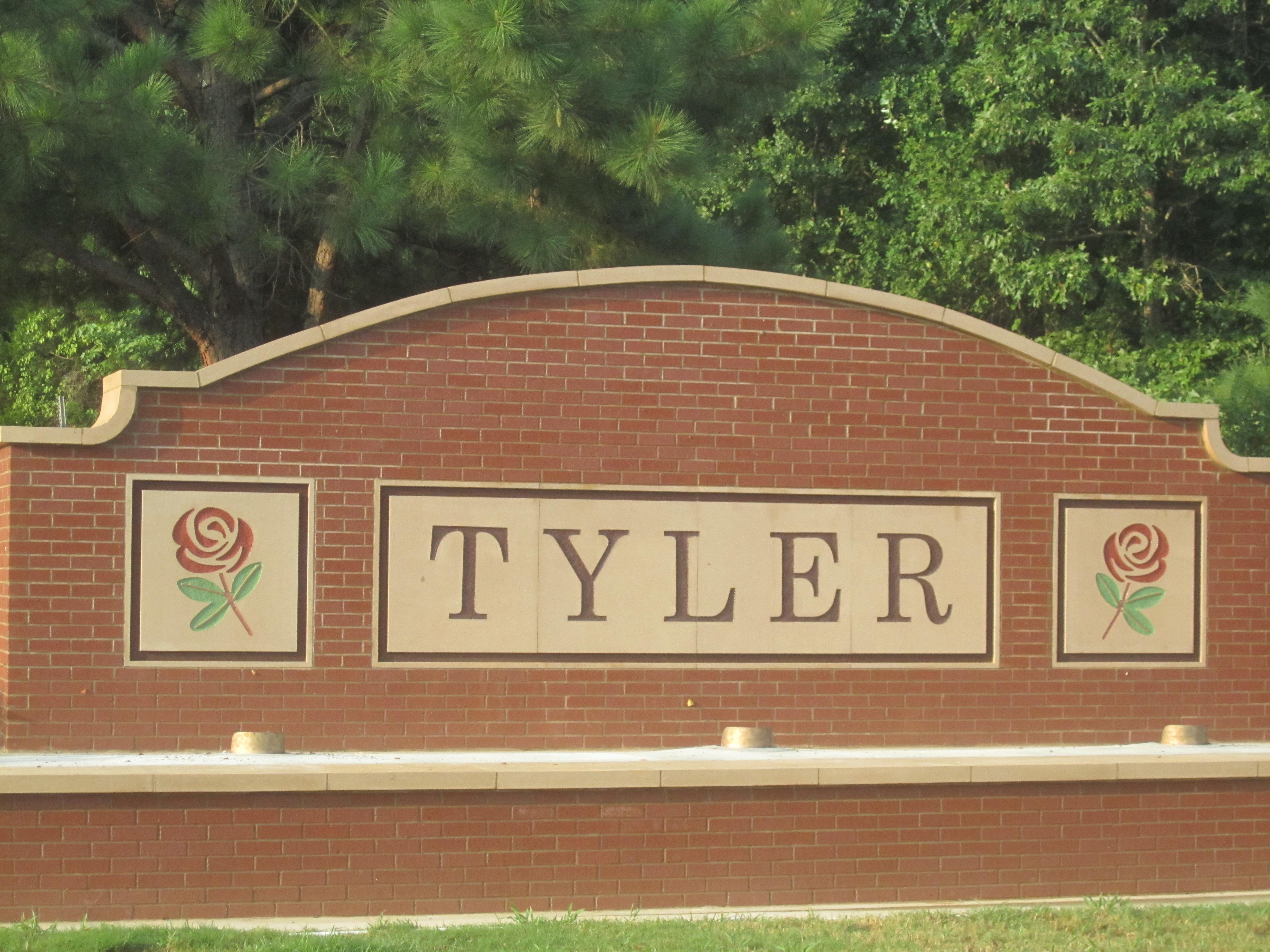 Tyler Texas City Limits Map