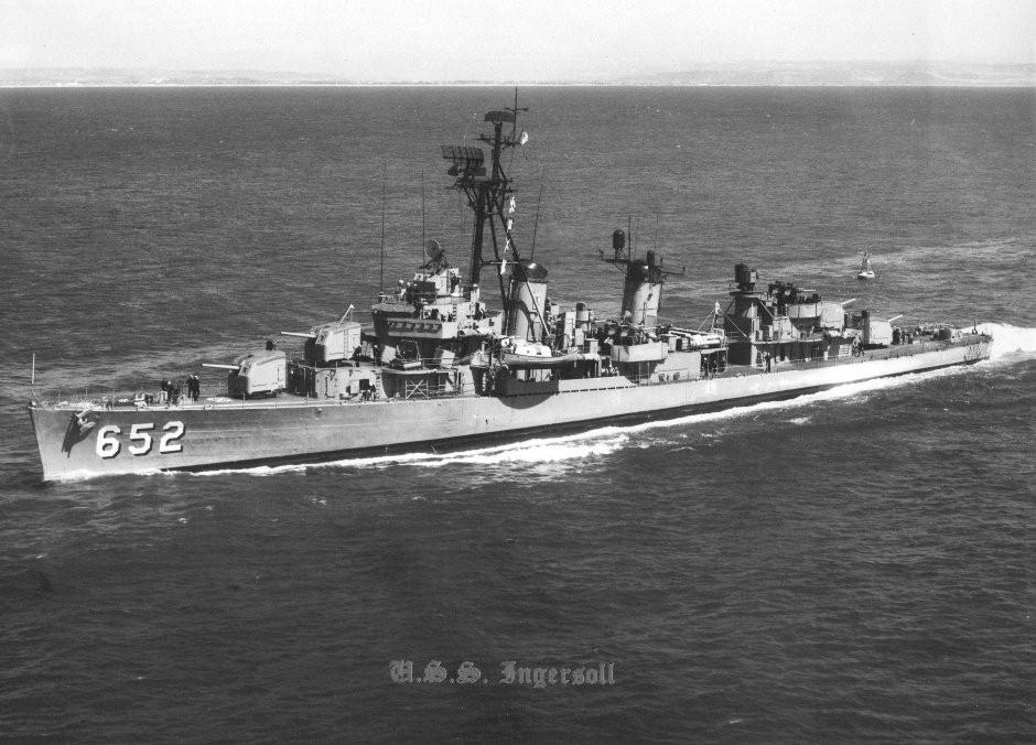 USS Ingersoll (DD-652) c. 1965