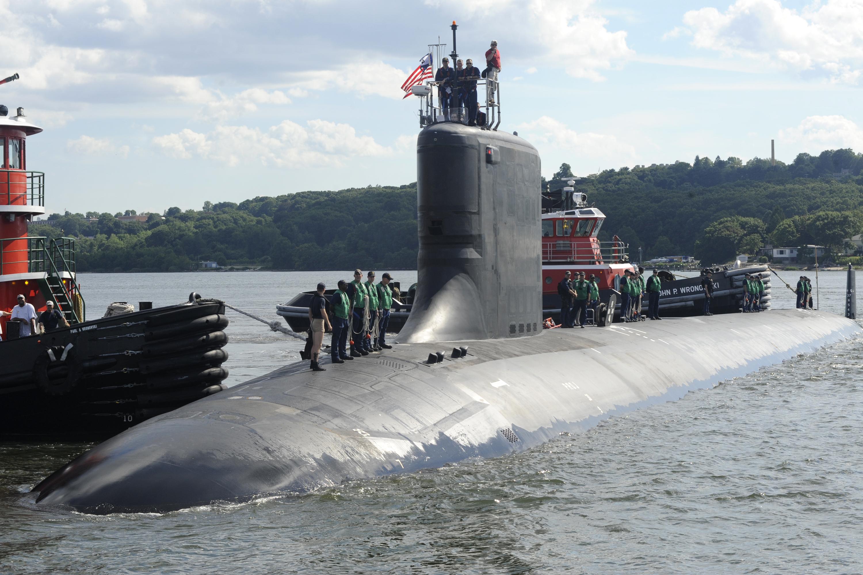 военно-морская база сша подводная лодка