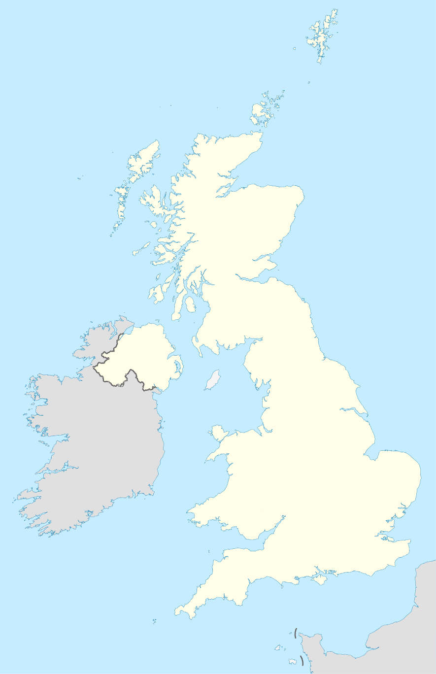 Map Of Ireland United Kingdom.File United Kingdom And Ireland Location Map Png Wikimedia Commons