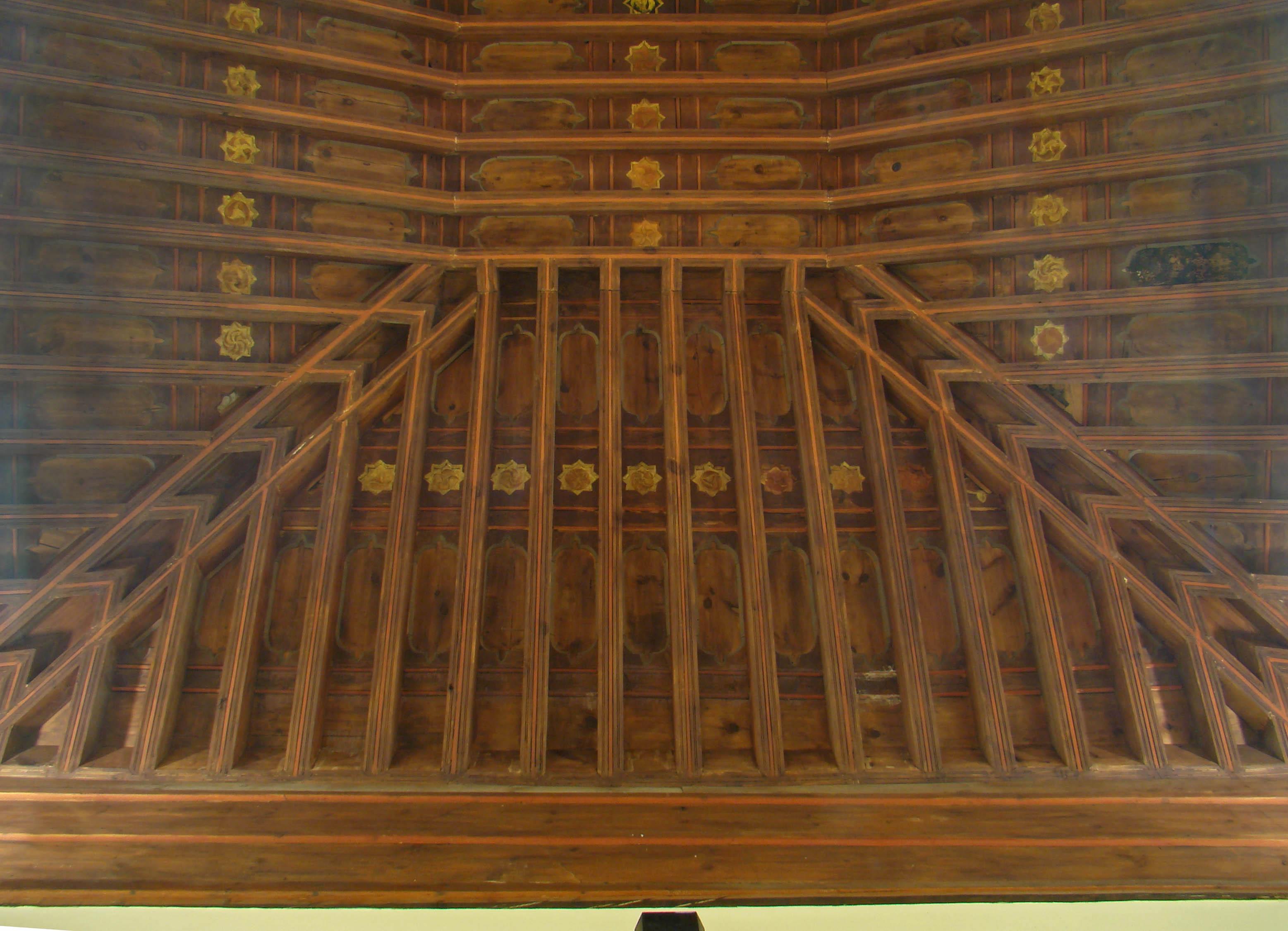 Archivo valladolid palacio vivero artesonado en sala de for Viveros valladolid