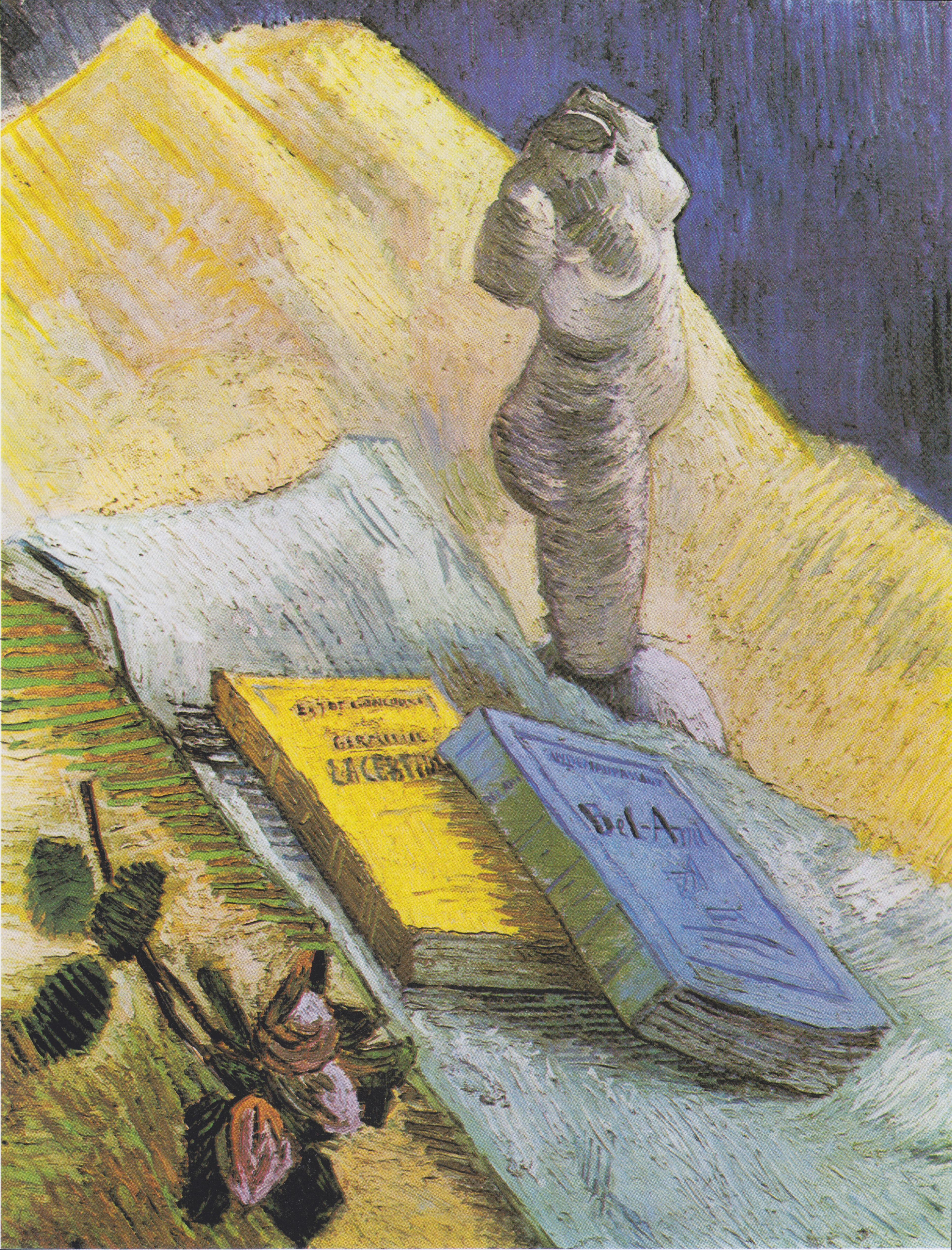 File:Van Gogh - Stillleben mit Gipstorso, einer Rose und zwei ...