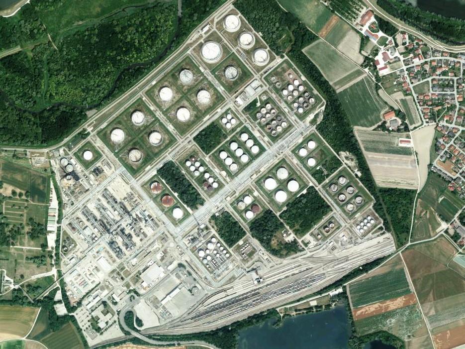 Raffinerie Vohburg