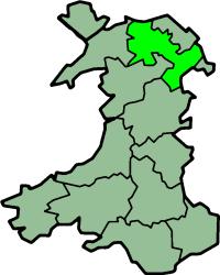 Denbighshire (historic) former county in Wales