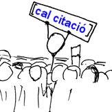 Webcomic xkcd - Wikipedian protester cropped Catalan.png