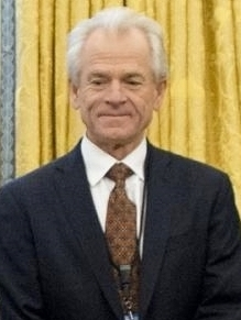 White House National Trade Council Director Peter Navarro in Orval Office in January 2017 (cropped 2).jpg
