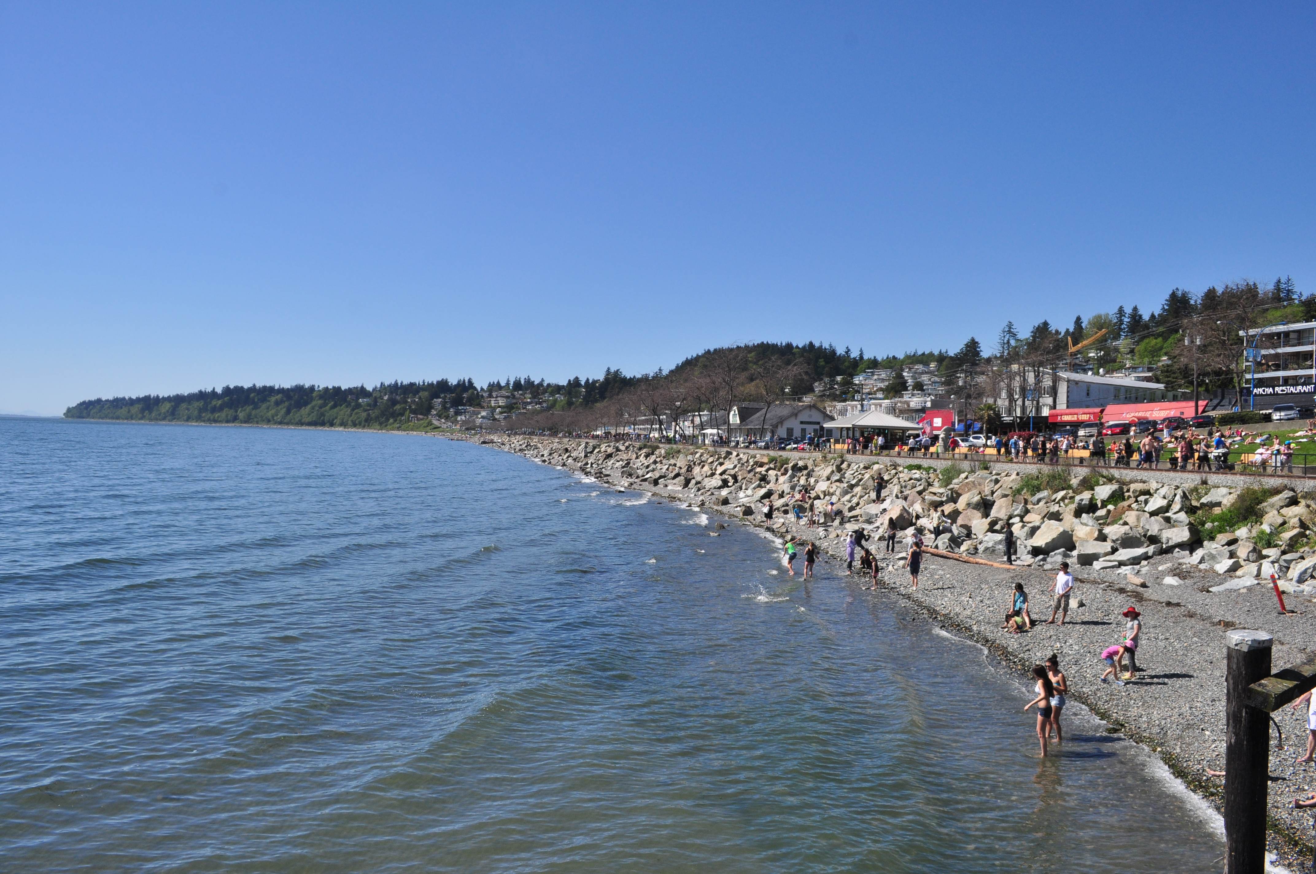 File White Rock Bc West Beach From Pier 03 Jpg