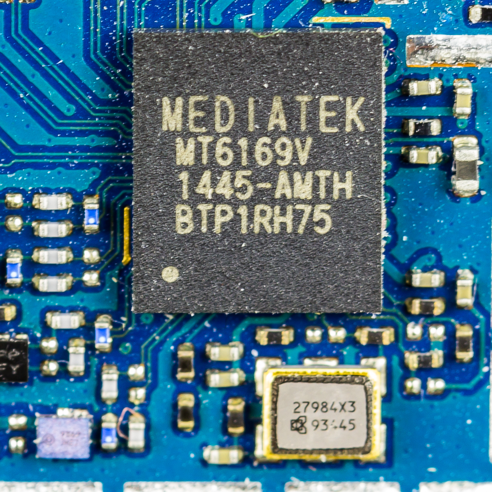 Filewiko Rainbow 4g Main Printed Circuit Board Mediatek Mt6169v Pictures 8624