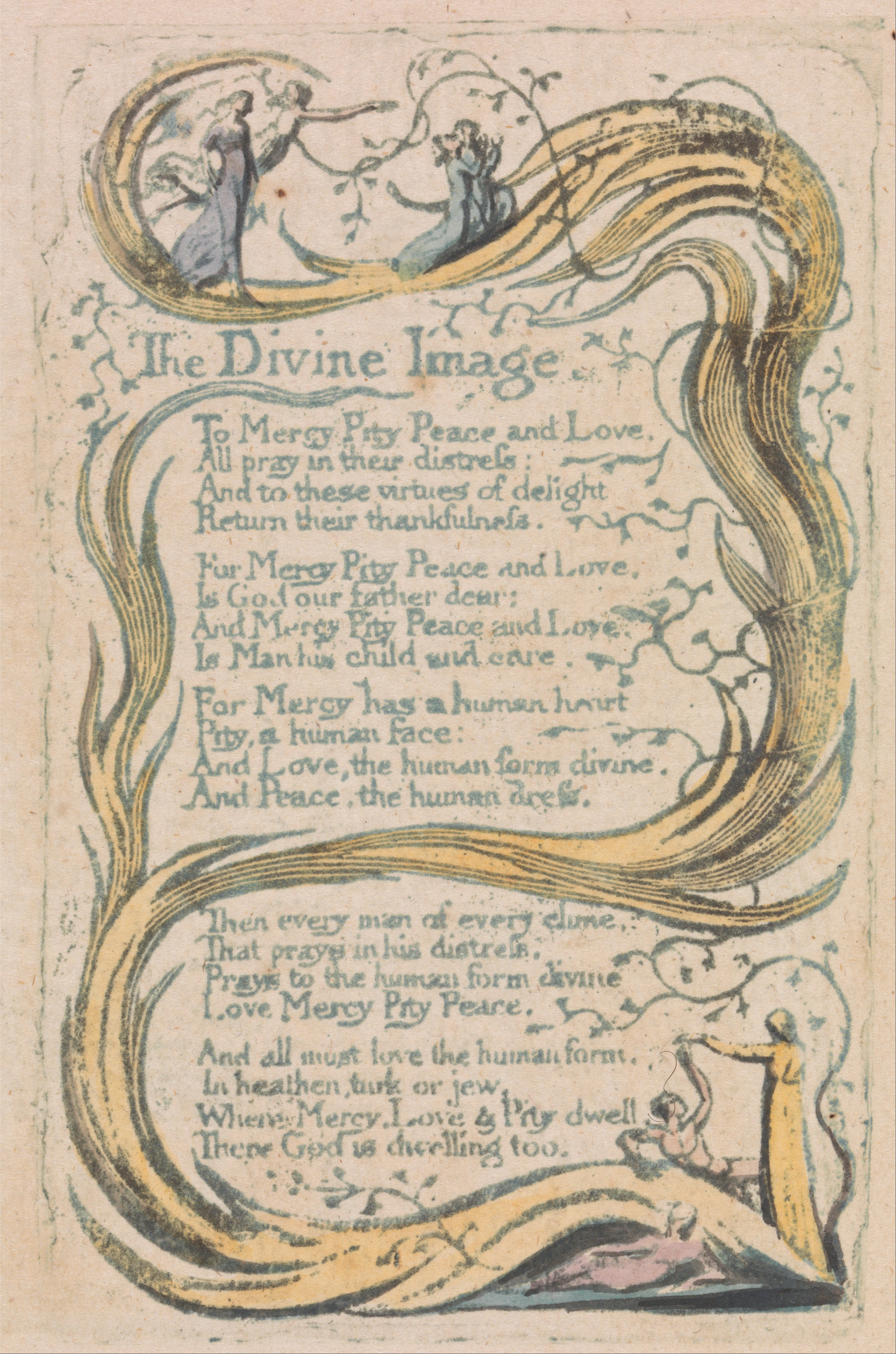 william blakes songs of innocence Sexual knowledge and children's literature: william blake's songs of innocence  and of experience and jamila gavin's coram boy.