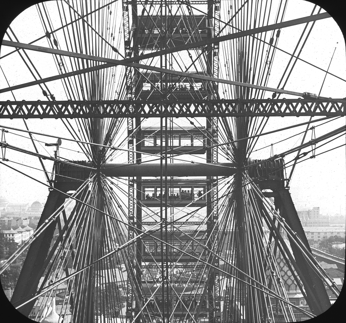 World's Columbian Exposition: Ferris Wheel, Chicago, 1893