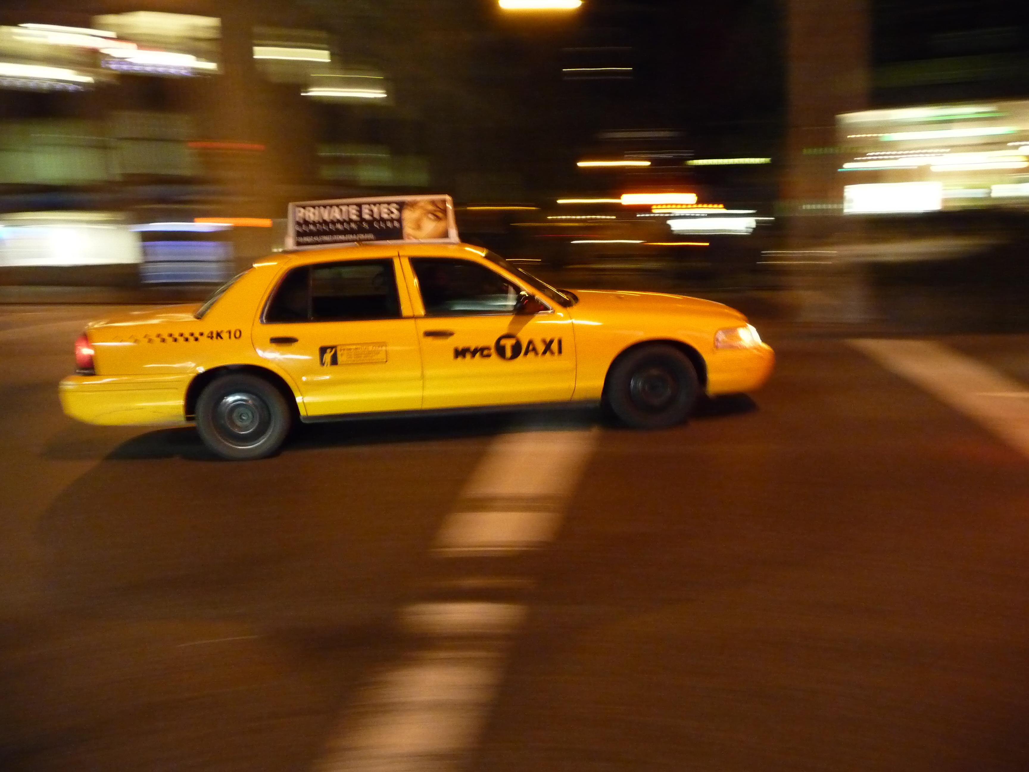 File Yellow cab JPG - Wikimedia Commons