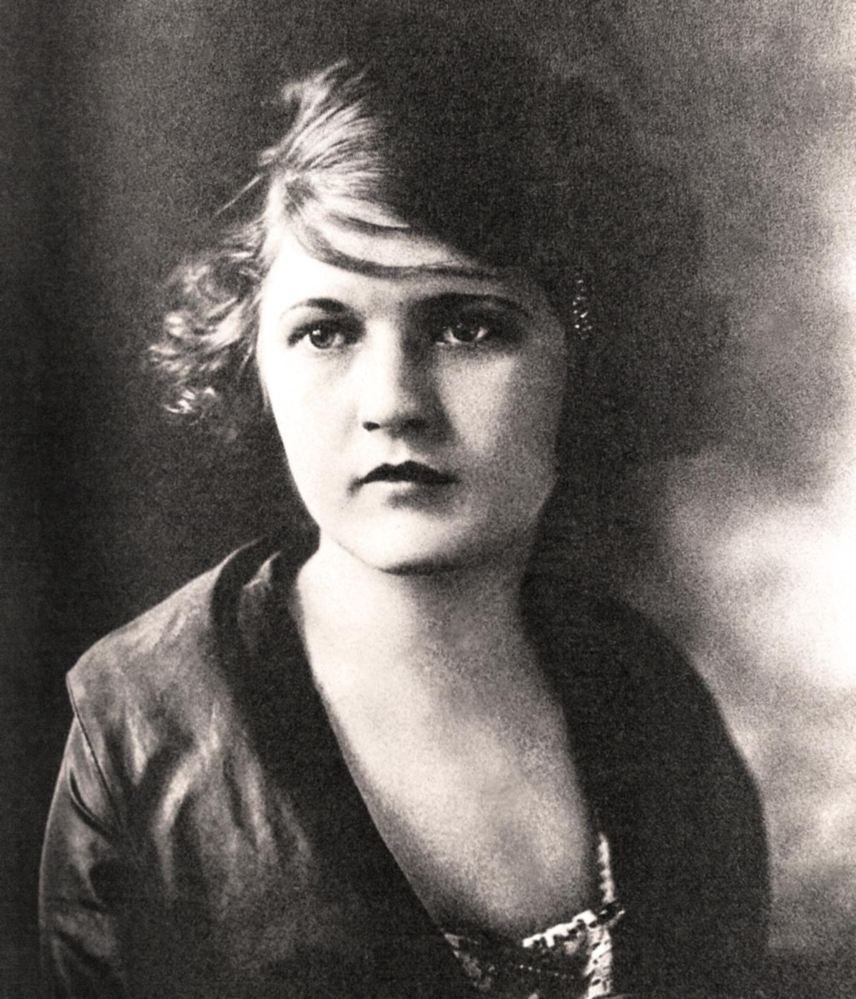 Zelda Sayre, 1917
