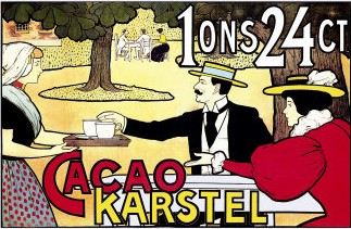 An early 20th-century chocolate advertisement 0-587-01583-7~Karstel-Cacao-Posters.jpg