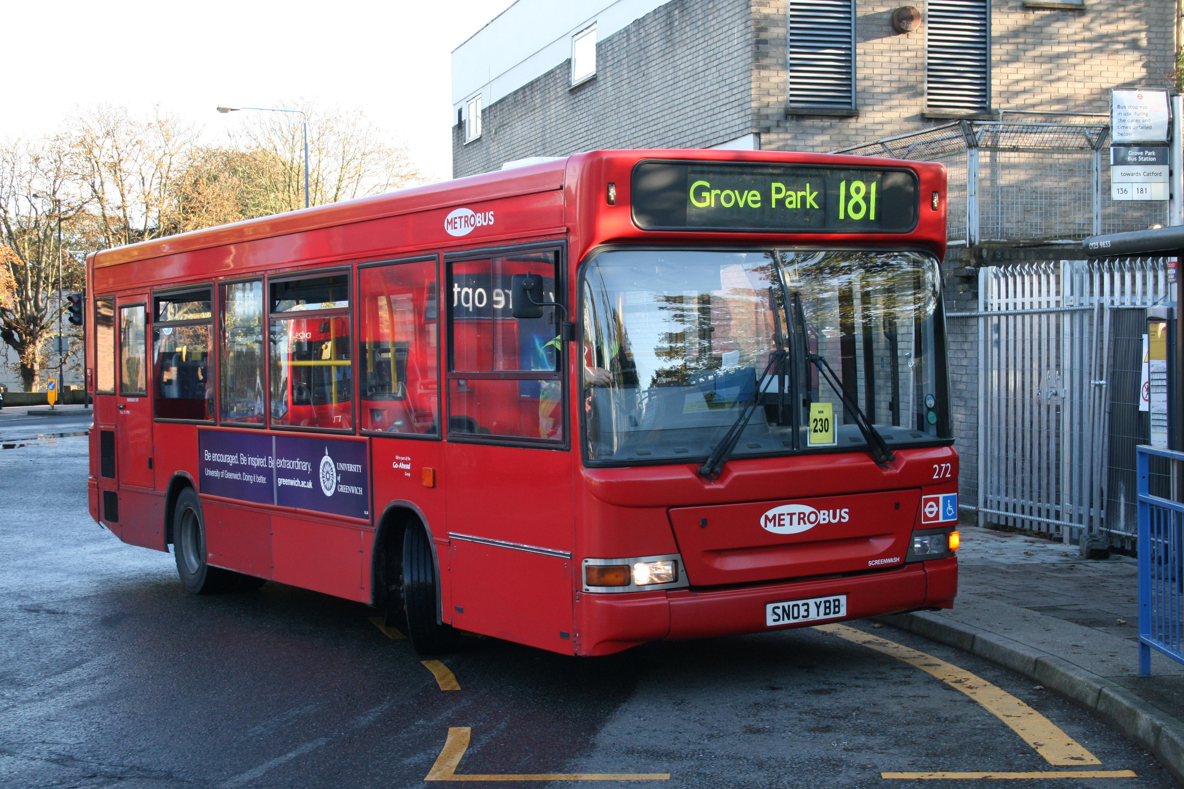 File:181 to Lewisham  In a tad  (15326982170) jpg
