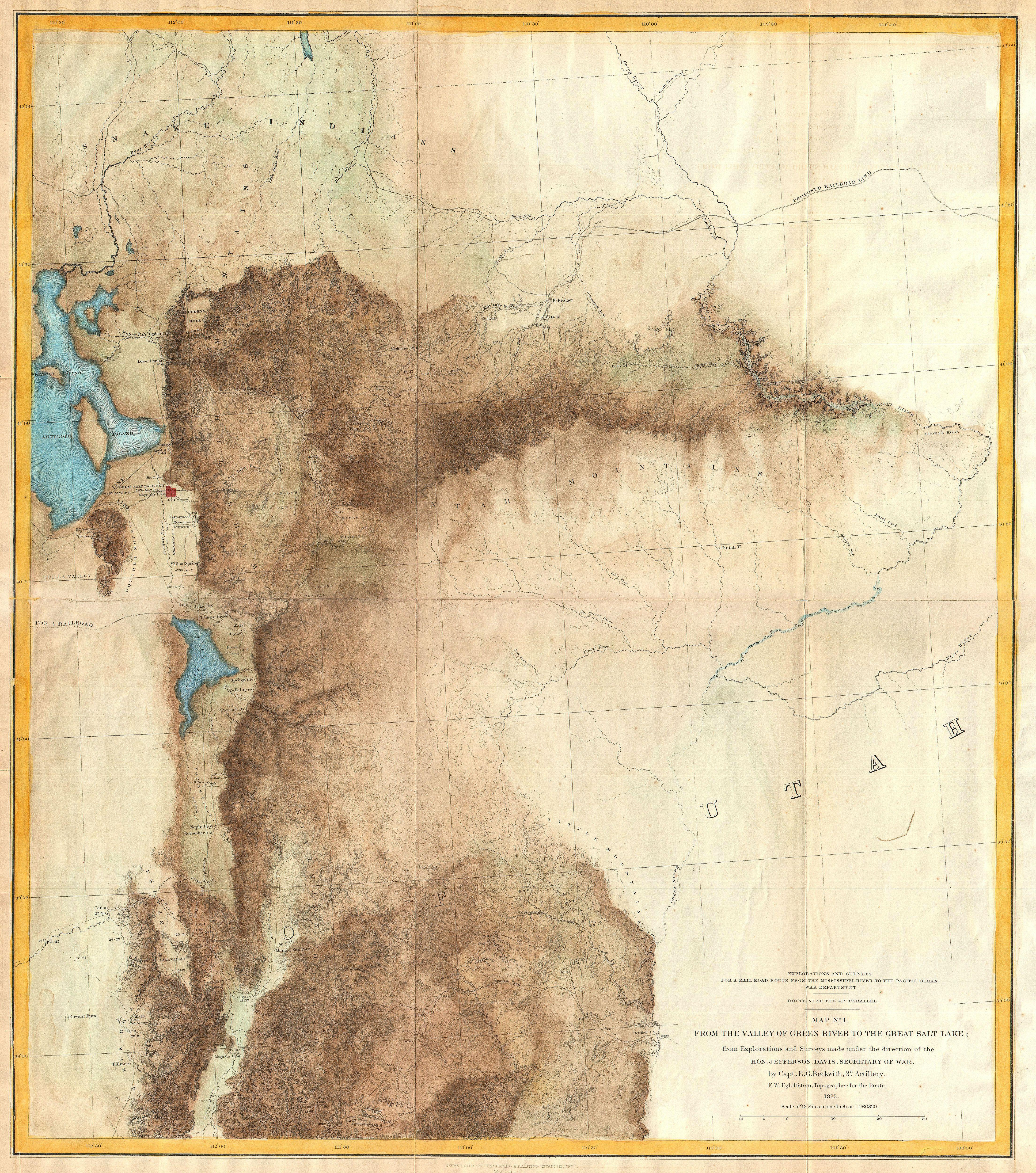 Gren River Utah To Salt Lake City